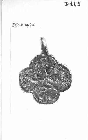 Pendant de harnais (?) garni d'une bélière : quadrupède