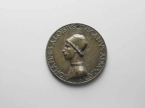 Médaille : Tuscano (Jean-Louis) jurisconsulte, auditeur de la chambre à Rome / inscription dans une couronne de lauriers