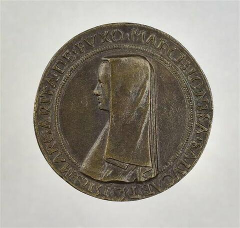 Médaille : Marguerite de Foix