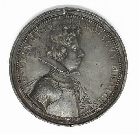 Médaille : François de Médicis (? - + 1634)