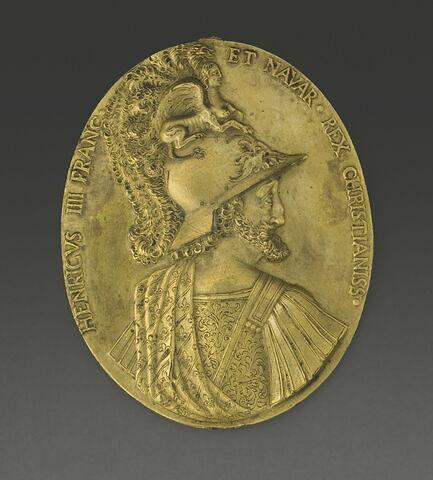 Médaille : Henri IV / Henri IV terrassant un centaure