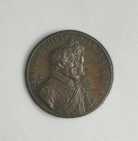 Médaille : Henri IV et Marie de Médicis