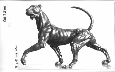 Statuette : panthère