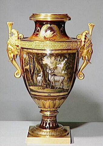 """Vase """"Clodion"""" de Monsieur, paire avec OA 11341"""