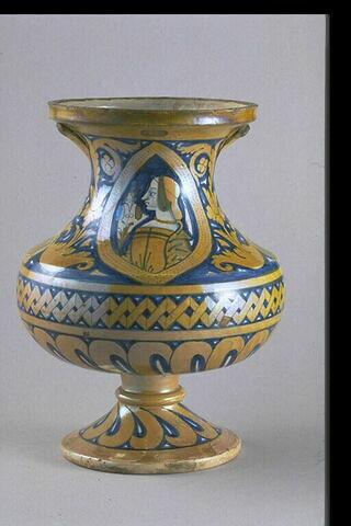 Vase : Buste féminin