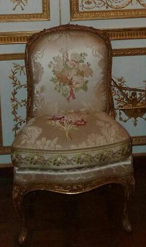 Chaise d'un ensemble de quatre (OA 6536-6539), d'un mobilier de salon (OA 6530 à 6539).