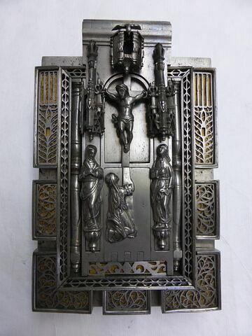 Serrure mécanique à moraillon : Crucifixion