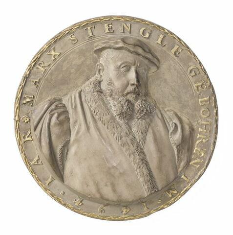 Médaillon : Marx Stengle d'Augsbourg, né en 1494