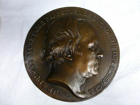 Médaille : J. B. Dumas