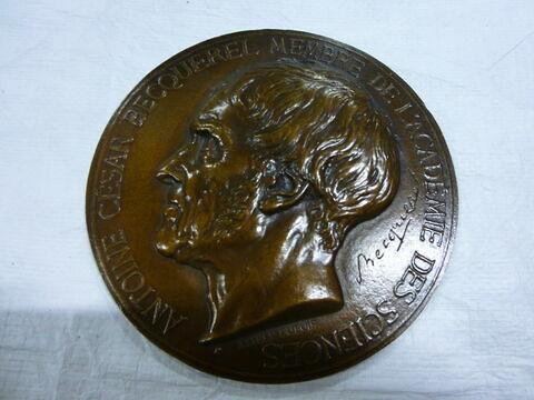 Médaille : A. C. Becquerel