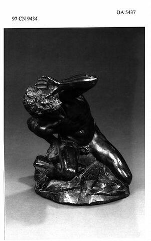 Statuette : Sabin (d'un enlèvement de la Sabine)