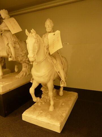 Statuette, figure équestre : Henri IV.