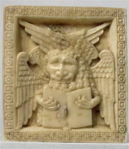 Plaquette : le lion symbole de l'Evangéliste Marc