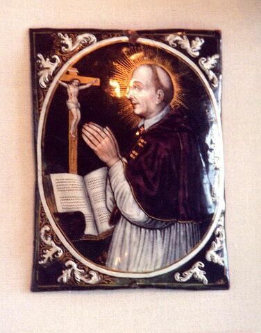 Plaque : saint Charles Borromée