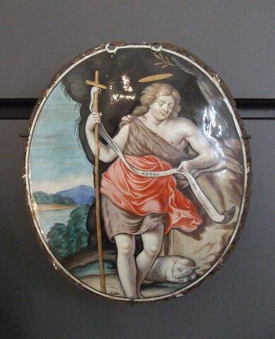 Plaque : saint Jean-Baptiste