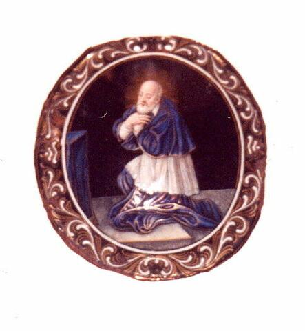 Plaque : Saint François de Sales