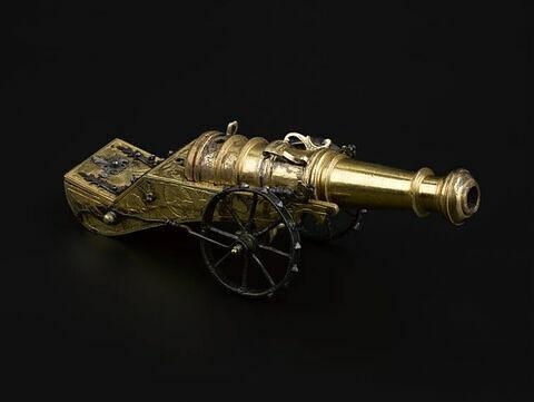 """Petit canon dit """"du Dauphin Louis"""", duc de Normandie, fils de Louis XVI"""