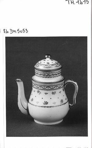 Cafetière, d'un ensemble de deux pièces (TH 1416)