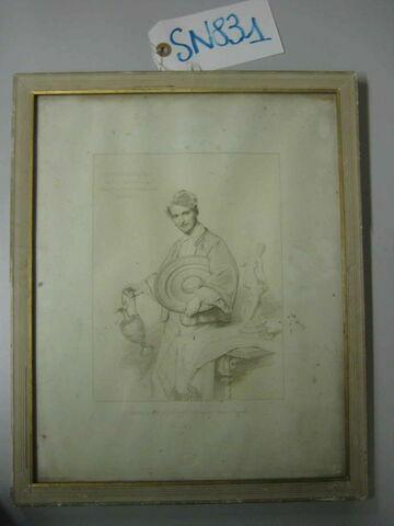 Portrait de Sauvageot gravure