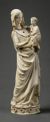 Vierge à l'Enfant de la Sainte-Chapelle.