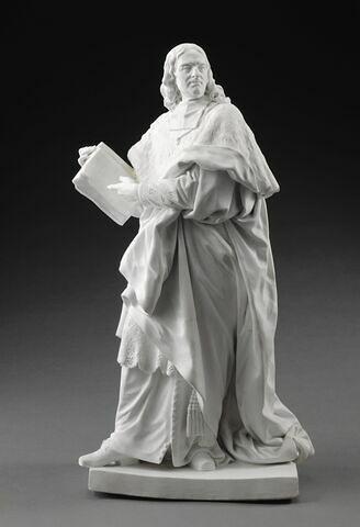 """Jacques-Bénigne Bossuet (1627-1704), prélat et écrivain, de la série des """"Hommes illustres de la France"""""""