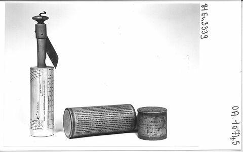 """Cadran cylindrique dit """"de berger"""" et son étui"""