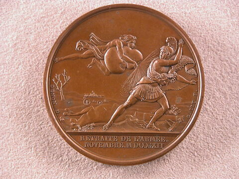 Médaille : Retraite de l'Armée, 1812