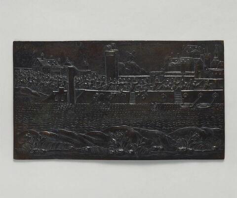 Plaquette : Entrée d'Henri IV à Paris