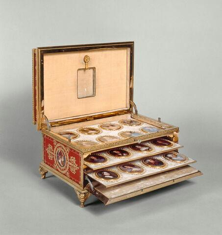 Coffret de la tabatière de Louis XVIII.