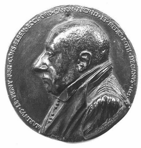 Médaille : Marin Le Pigny, doyen des médecins de Rouen