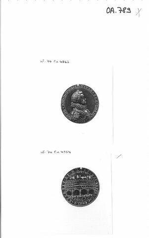 Médaille : Louis XIII / pont Saint-Michel