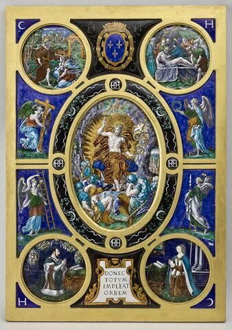 Retable de la Sainte-Chapelle : La Résurrection