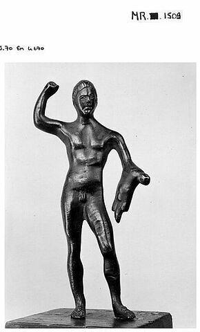Statuette : Hercule combattant