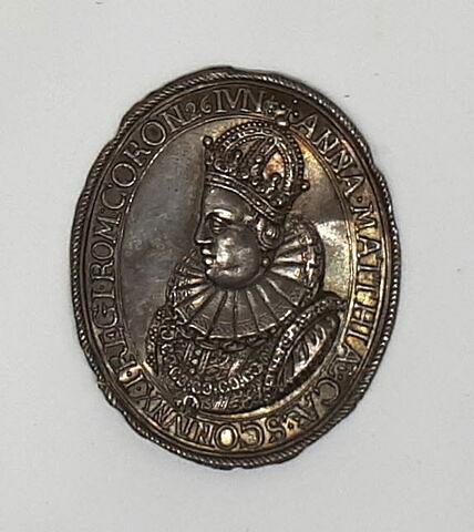 Médaille : l'impératrice Anne d'Autriche / sans revers.