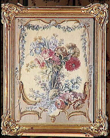 Feuille d'écran en tapisserie : bouquet