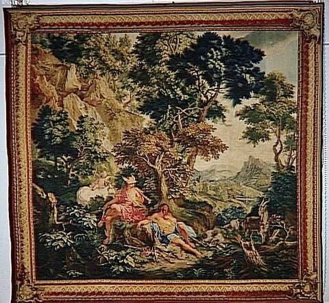 Mercure et Argus, de la tenture des Métamorphoses d'Ovide