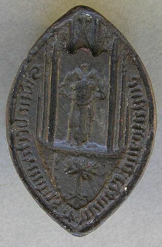 Matrice de sceau : Bertrand, seigneur d'Olivet près d'Aniane