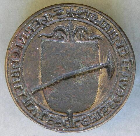 Matrice de sceau : Henri Chaillau, « escrémisseur » de Chalons