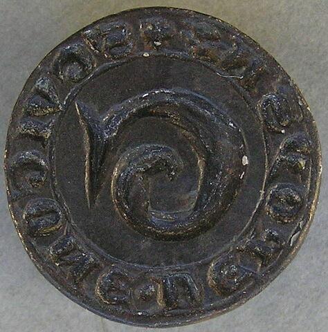 Matrice de sceau : Guigone de Poysa