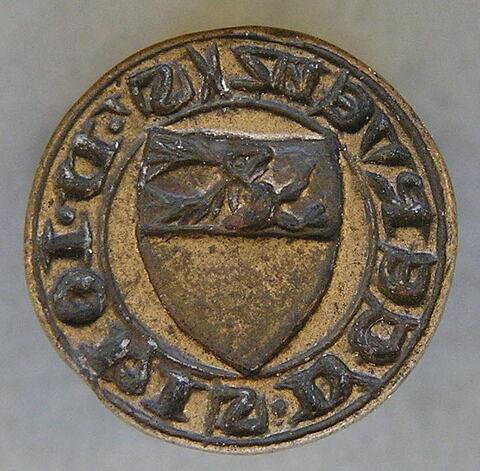 Matrice de sceau : Jean de Cervens