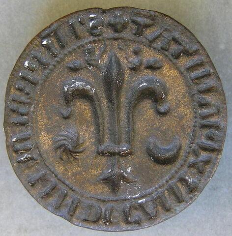 Matrice de sceau : Michel ( ?), prêtre de lin ( ?) et doyen de chrétienté