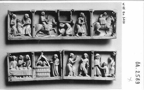 face, recto, avers, avant ; vue d'ensemble © 1965 RMN-Grand Palais (musée du Louvre) / Photographe inconnu