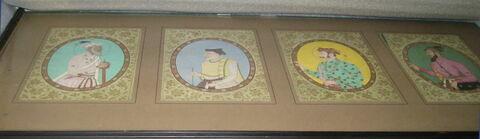 20 portraits répartis en 5 cadres (TH 277 1 à TH 277 5).