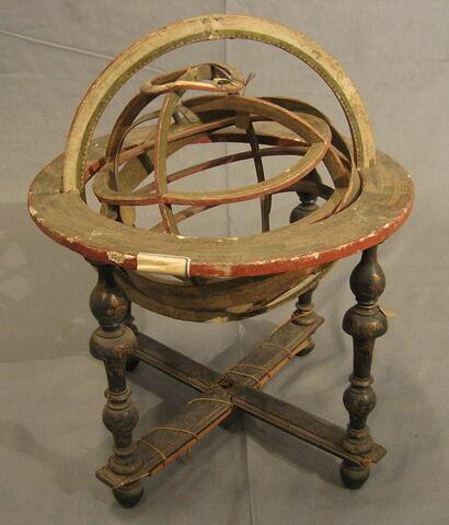 Sphère armillaire géocentrée