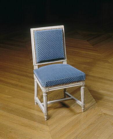 Chaise faisant partie du mobilier du comte d'Artois