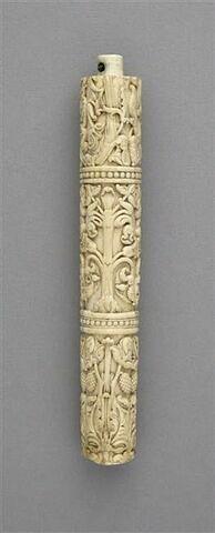 Élément d'un manche de flabellum ou d'instrument liturgique