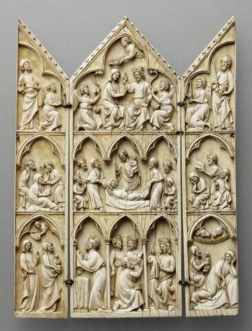 Triptyque : Scènes de la vie de la Vierge