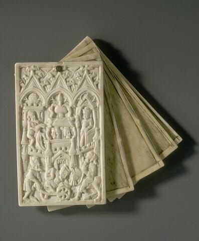 Tablettes à écrire : la Fontaine de Jouvence ; le château d'Amour