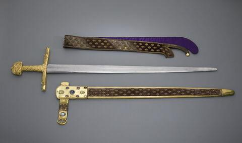Epée du sacre des rois de France