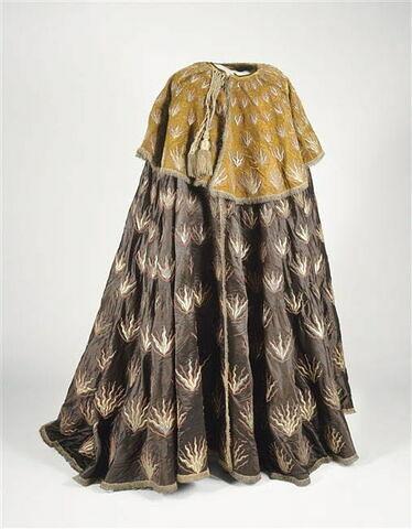 Manteau de héraut ou d'huissier de l'Ordre du Saint-Esprit.